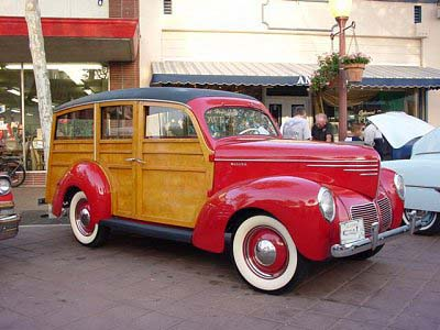 1940 Willys Model 440 Woodie Wagon
