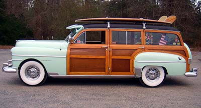 1950 Chrysler Woodie